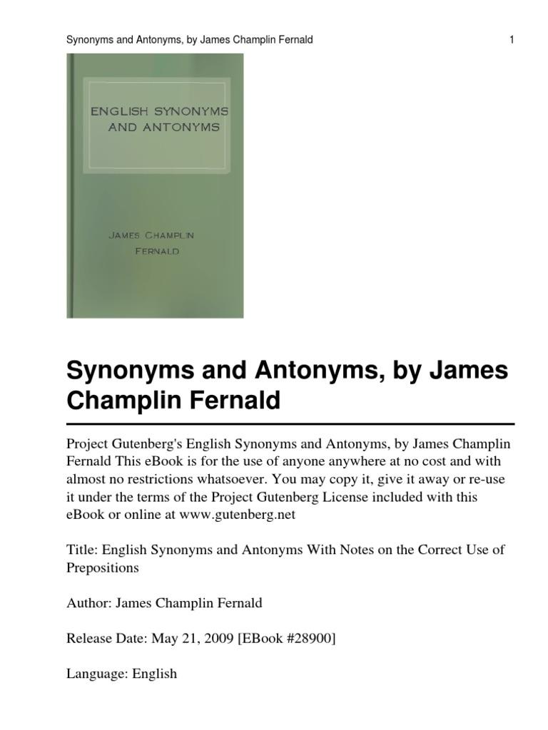 English Synonyms And Antonym | Luck | English Language