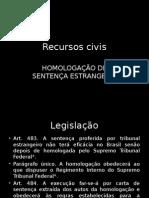 Homologação de Sentenca Estrangeira