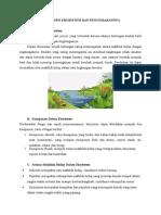 Komponen Ekosistem Dan Pencemarannya