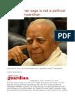 Wigneswaran Saga is Not a Political Issue – Sampanthan