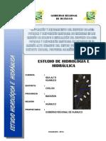 Memoria Hidrologia e Hidraulica - Alto Huamuco