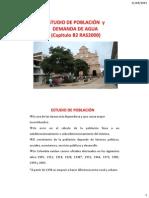 Población proyeccion acueductos