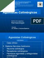 Agonistas Antagonistas Colinergicos Unmsm 2015a Dr Oscanoa