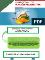 DIAPOS Plan de Diversificacion Productiva