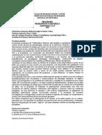 Programa 2012 Problematica Historica Comisiones 1, 3 y 5