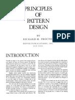 Priciples of PatternDesign Design Richard Proctor