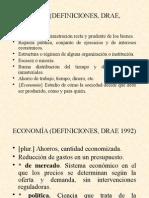 ECONOMÍA (DEFINICIONES)
