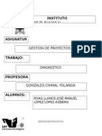 Gestión de Proyectos.