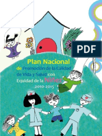 Plan Niñez 2010-2015