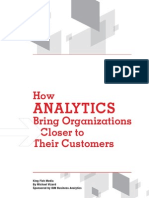 IBM_How Analytics Bring Organizations Closer to Their Customers
