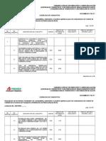 Formato de-9 Catálogo de Conceptos, Adquisiciones