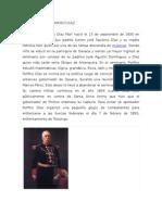 El Gobierno de Porfirio Diaz