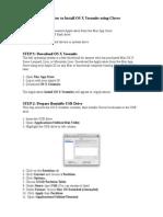 Osx Installation Guide