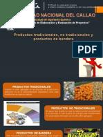 PRODUCTOS TRADICIONALES Y NO TRADICIONALES