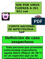 Infeccion Por Virus de Influenza a Sap.ppt Andrea