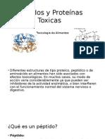 Péptidos y Proteínas Toxicas