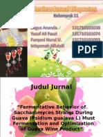 Review Jurnal Bioproses THP-B (fermentative behavior of ......).ppt