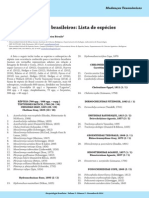 Lista 2014 de Répteis Brasileiros Lista de Costa & Bernils 2014