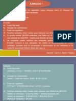 Contabilidad de Costos y PPt-Unidad I- Ejercicios