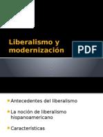 Liberalismo y Modernizacion