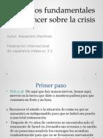 Principios Fundamentales Para Vencer Sobre La Crisis