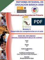Productos del Segundo Módulo de la RIEB Diplomado