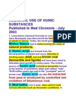 Humichealth.info -01 Medicinal Use of Humic Substances. Report by - ATP Global Foundation