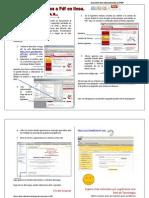Convertir a PDF Online - Tutoriales