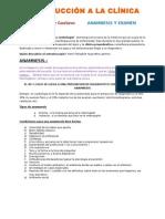 Introducción a La Clínica historia clinica