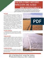 La Solarizacion Como Metodo de Desinfeccion Del Suelo