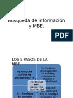 Búsqueda de Información y MBE