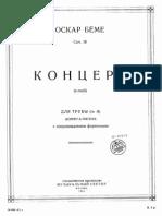 Oscar Boehme Trompeta Concierto