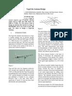 Yagi-Uda Antenna Design