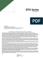 Fluke DTX Series Certificador de Cable