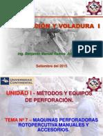 Perforacion y Voladura I- Tema 07