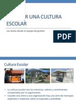 Generar Una Cultura Escolar
