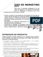 Estrategias de MarketESTRATEGIAS DE MARKETINGing