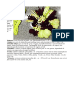 Relatório Tecnica e Dietética - Corte Em Vegetais