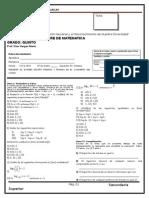 Examen Iiit Mat5 2012