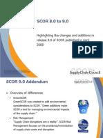 Scor 8.0 to 9.0