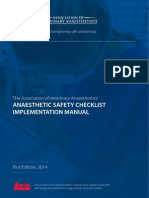 Ava Checklist Booklet