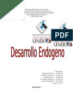 GEOHISTORIA desarrollo endogeno