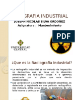 Radigrafia Industrial Ensayos No Destructivos