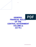 GFR Vol-I Government of Pakistan
