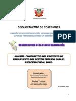 Presupuesto Publico 2015