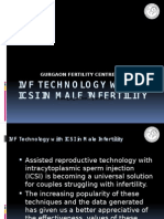 IVF Technology With ICSI in Male Infertility