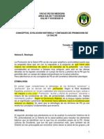 Helena E Restrepo Conceptos, evoluci+¦n hist+¦rica y  enfoques de promoci+¦n de la salud 1