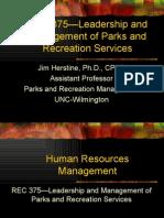 Human Resources Mgt