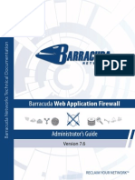 Barracuda Web App Firewall Administrator Guide.pdf