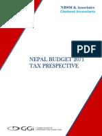 Nepal Budget 2071